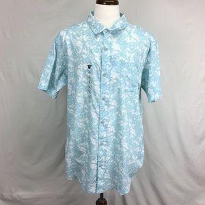 Columbia Blue Under Exposure II Button Down Shirt
